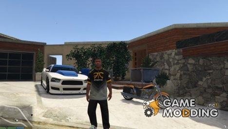 Футболка Fnatic для Франклина for GTA 5