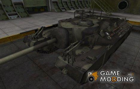 Исторический камуфляж T95 для World of Tanks