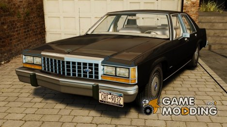 Ford LTD Crown Victoria 1987 для GTA 4