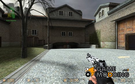 Worn Torn Grey Camo Deagle для Counter-Strike Source