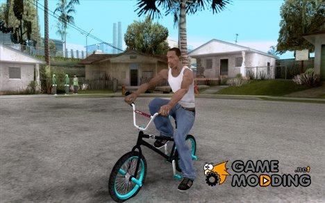 REAL Street BMX mod Black Edition for GTA San Andreas