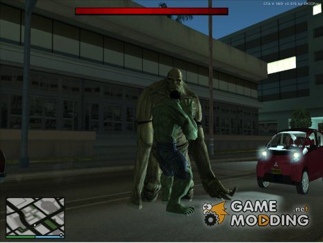 Abomination From Incredible Hulk для GTA San Andreas