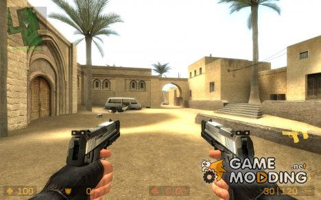 S.T.L USP Match Dualies for Counter-Strike Source
