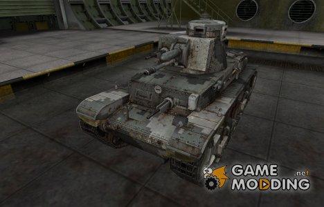 Камуфлированный скин для PzKpfw 35 (t) for World of Tanks
