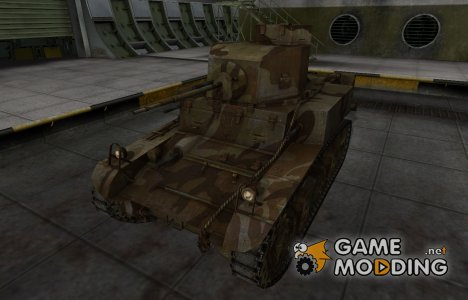 Шкурка для американского танка M3 Stuart для World of Tanks