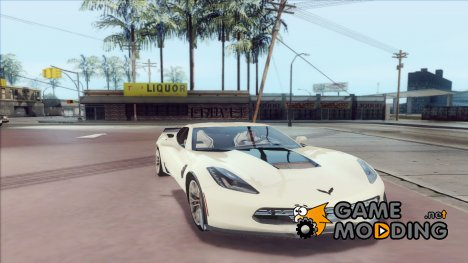 Chevrolet Corvette Z06 1.0.1 for GTA San Andreas