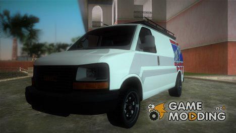 GMC Savanna Top Fun для GTA Vice City