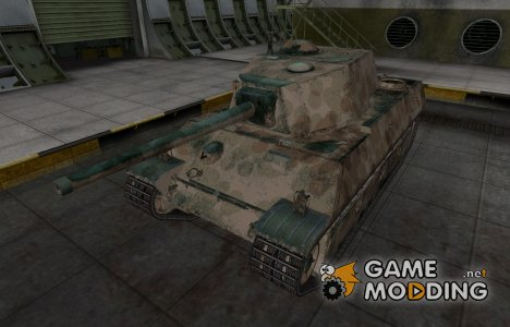 Французкий скин для AMX M4 mle. 45 для World of Tanks