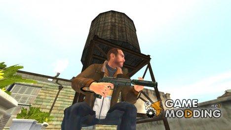 Пистолет SIG-Sauer P226 с глушителем for GTA 4