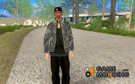 Крутая военная куртка для GTA San Andreas