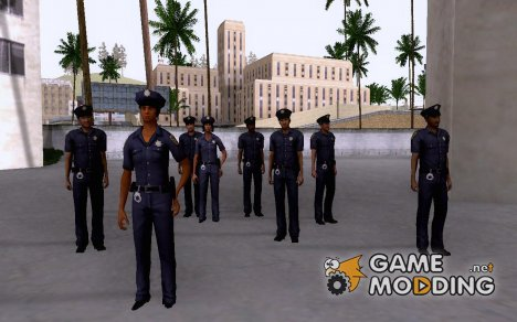 Police Skin Pack for GTA San Andreas