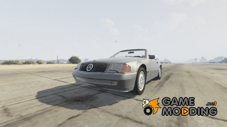 1989 Mercedes-Benz 500 SL для GTA 5