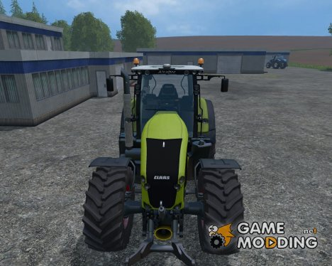 CLAAS Axion 950 V 0.5 Beta PloughingSpec for Farming Simulator 2015