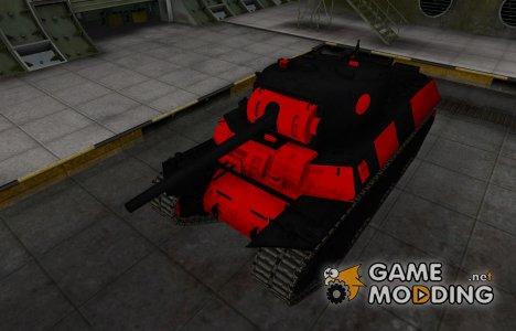 Черно-красные зоны пробития M6 for World of Tanks
