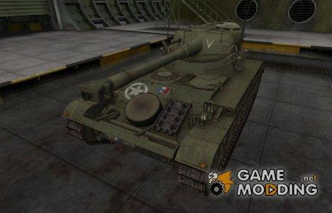 Исторический камуфляж AMX 13 75 для World of Tanks