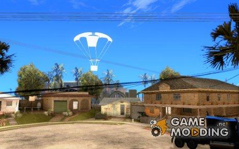 Вызов случайной машины на парашюте для GTA San Andreas