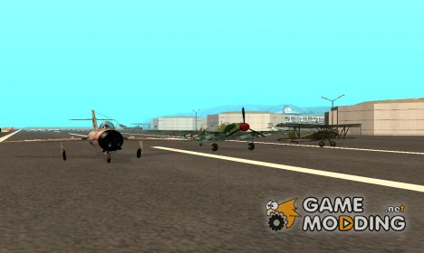 Пак отечественных самолётов для GTA San Andreas