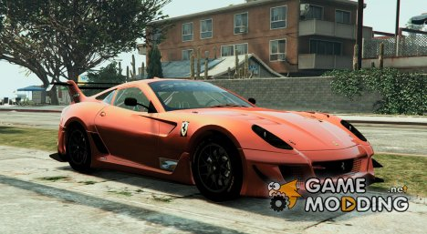 Ferrari 599XX Super Sports Car для GTA 5
