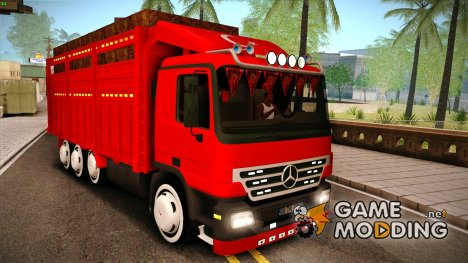 Mercedes-Benz Actros 40 Ayak for GTA San Andreas