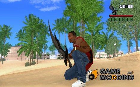Даэдрический меч из TES V: Skyrim for GTA San Andreas
