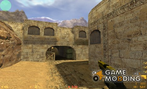 BlackAndGold P288 for Counter-Strike 1.6