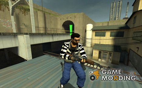 L337 Punk Reskin для Counter-Strike Source