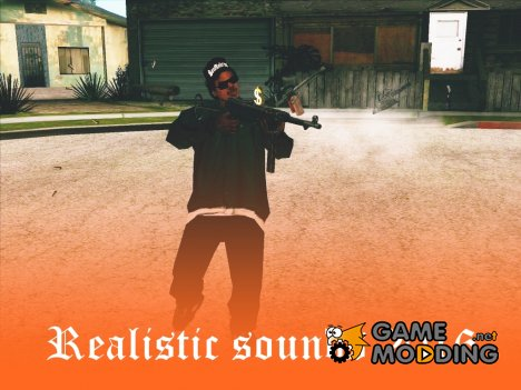 Realistic sounds 2016 for GTA San Andreas