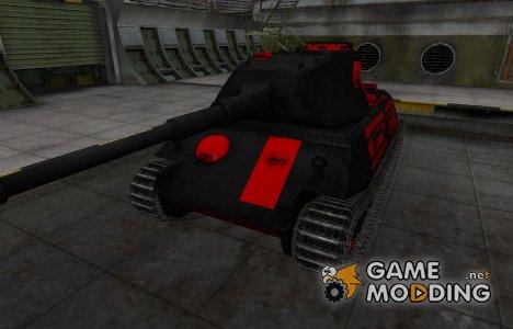 Черно-красные зоны пробития VK 45.02 (P) Ausf. A для World of Tanks