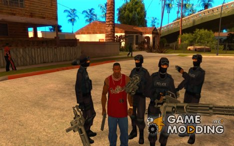 Подмога Спецназ для GTA San Andreas