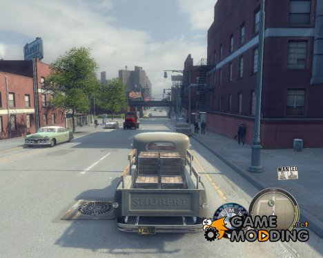 Спидометр в км\ч (BMW) для Mafia II