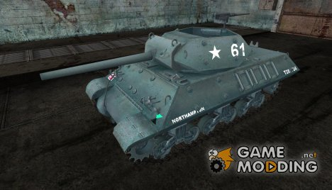 Шкурка для M10 Wolverine English for World of Tanks