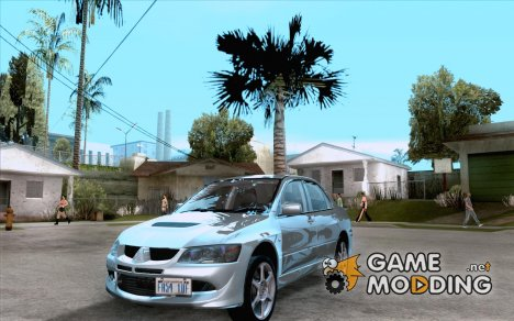 Mitsubishi Lancer Evolution VIII Full Tunable для GTA San Andreas