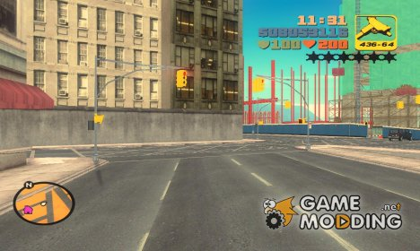 Roads из GTA IV for GTA 3