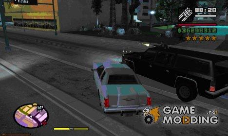 Полицейские стреляют из окон for GTA San Andreas
