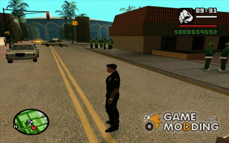 Увеличение трафика для GTA San Andreas