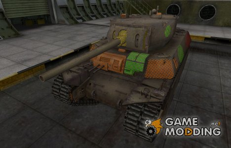 Зона пробития M6 for World of Tanks