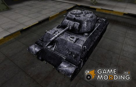 Темный скин для T14 для World of Tanks