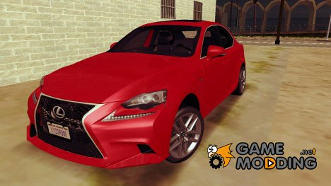 Lexus IS350 F-SPORT 2014 for GTA San Andreas