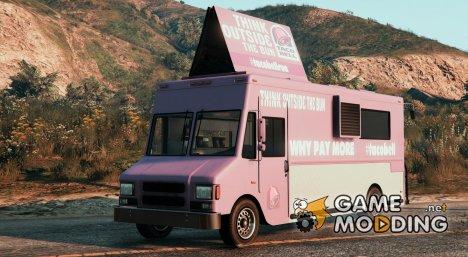 Taco Bell Van V1 для GTA 5