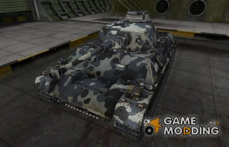 Немецкий танк PzKpfw III/IV for World of Tanks
