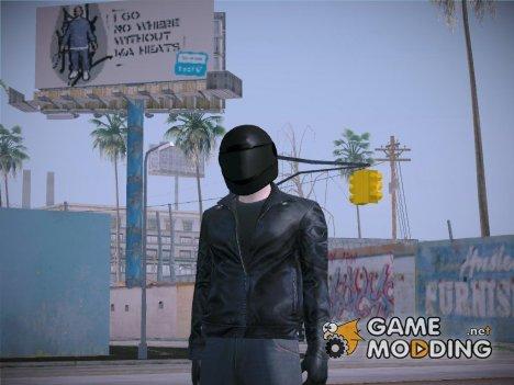 Biker Helmet Heists DLC GTA V Online for GTA San Andreas