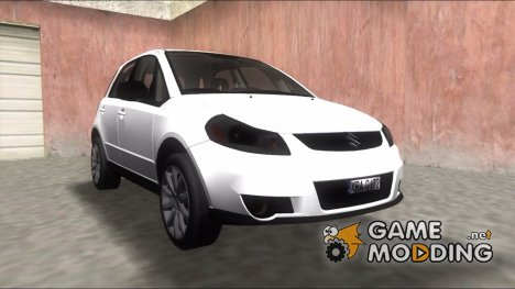 2011 Suzuki SX4 Sportback Back Edition for GTA Vice City