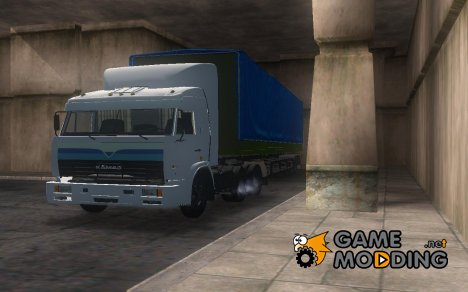 Камаз 54115 близнецов для GTA San Andreas
