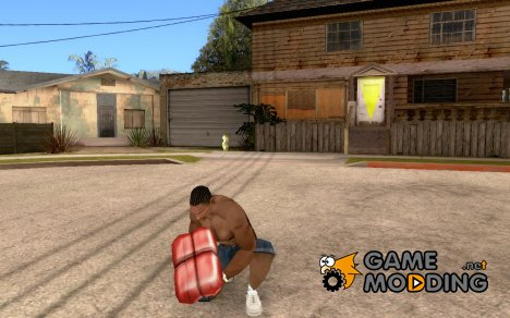 Аптечка для ГГ для GTA San Andreas