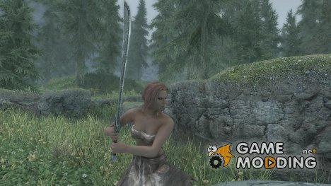 Shark Fin Machete для TES V Skyrim