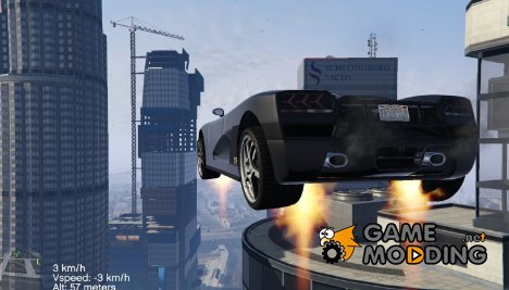 Vehicle Jetpack for GTA 5