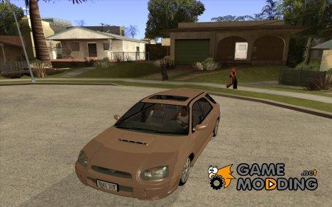 Subaru Impreza Wagon 2004 - 2002 for GTA San Andreas