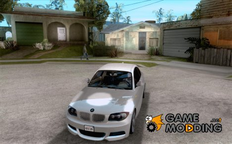 BMW 135i Coupe Stock for GTA San Andreas