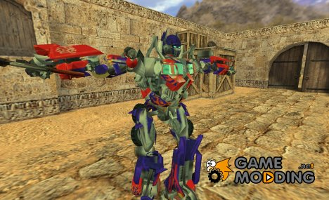 Optimus Prime for gsg9 для Counter-Strike 1.6