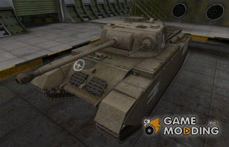 Зоны пробития контурные для Centurion Mk. I для World of Tanks